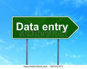 Data Entry Projects services