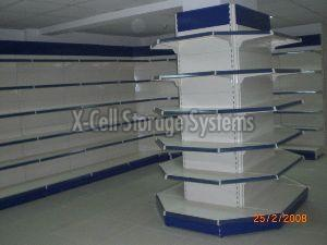 Center Pillar Display Racks