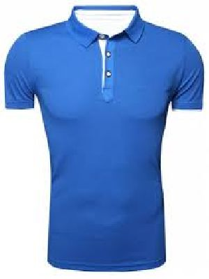 Plain Polo Neck T-shirts