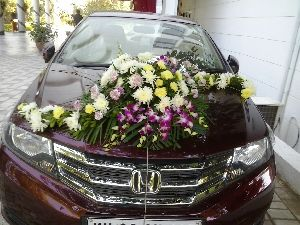 Car Flower Decoration Services