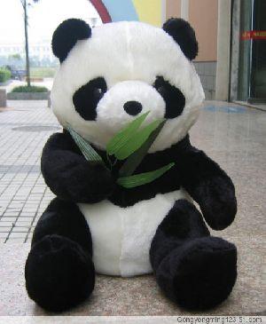 stuffed panda toy