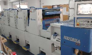Used Kba offset printing machine