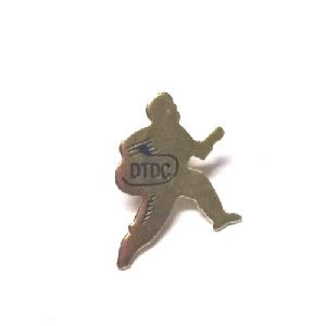 Brass Gold Plated Runner Badges