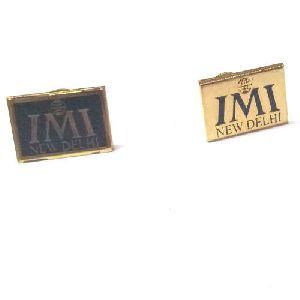 Brass Rectangular Badges