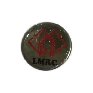 Brass Round Pin Badges