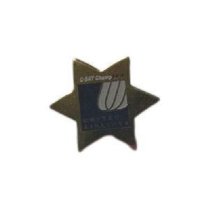 Brass Star Badges