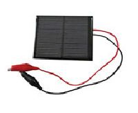 Solar Panel With 20'' Alligator Clip Leads