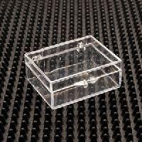 Square Plastic Hinged Boxes
