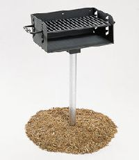 Pedestal Rotating Grill
