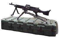 Machine Gun Case Spare Barrel