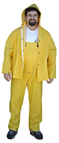 Yellow Rainsuit Coverall Pants