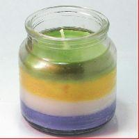Jar Design Candle