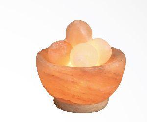 Himalayan Salt Fire Bowl Lamps