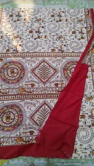 Assam Silk Madhubani Sarees