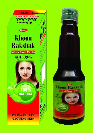 Khoon Rakshak Natural Blood Purifier Syrup