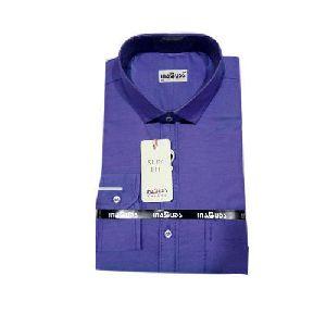 Mens Plain Giza Cotton Shirts