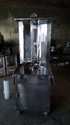 Shawarma Machine Trolley