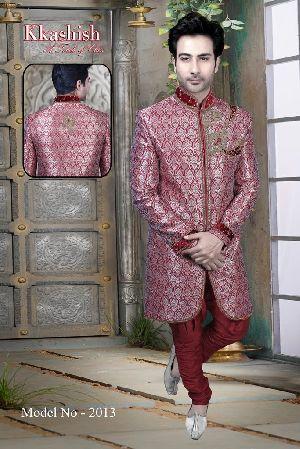 2013 Mens Designer Indo Western Sherwani