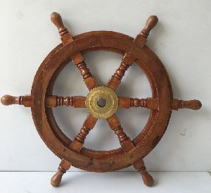Nautical Wooden Ship Wheels