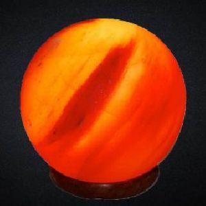 Ball Shaped Crafted Himalayan Salt Lamp