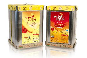 15 Kg Tin Tulsi Physically Refined Cooking Oil