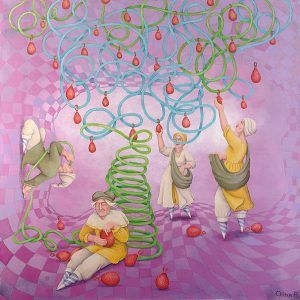 Air Fruit Harvest Painting
