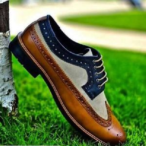 Mens Brouge Lace Up Shoes