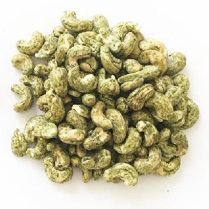 Green Chilli Flavored Cashew Nuts