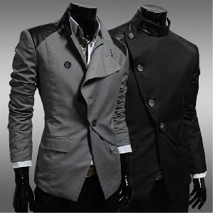 Mens Knitted Blazers