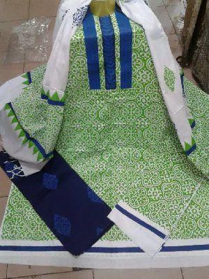 Batik Bed Sheets,Block Printed Bed Sheet,Block Printed Blue Three Pic  Bangladesh