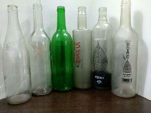 Liquor Glass Bottles