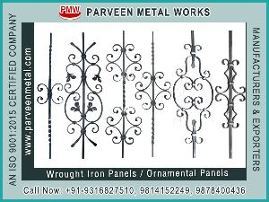 Wrought iron components Panels