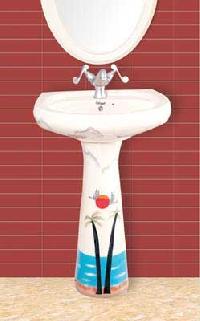 Designer Pedestal Wash Basins