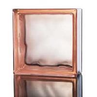 Weavy Pink Glass Bricks