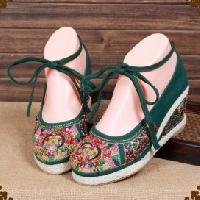 Ladies Embroidered Shoes