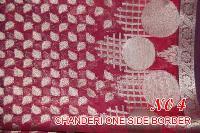 Chanderi One Side Border Saree