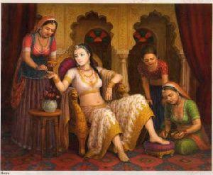 Beautiful Rajasthani Oil Paintings