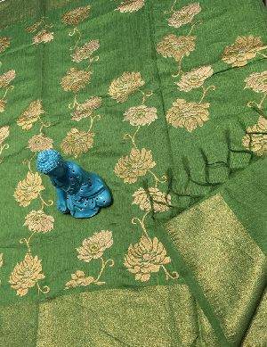 jute silk embroidered sarees