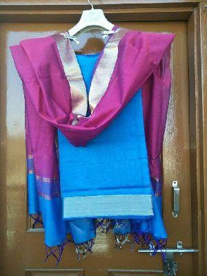 Maheshwari Handloom Soft Cotton Silk Dupatta