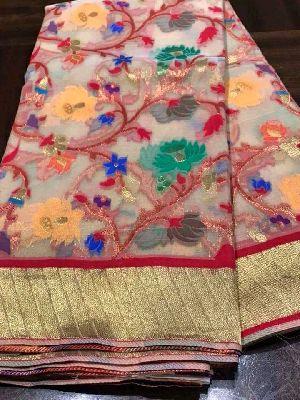 Muslin Silk Blended Drape Sarees