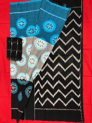Pochampally Ikat Cotton Sarees