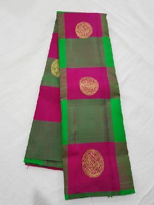 Pure Handloom Kanchipuram Pure Silk Sarees
