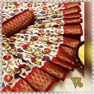 Vb Pochampally Tussar Silk Sarees