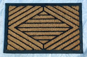Rubber Backed Coir Mat