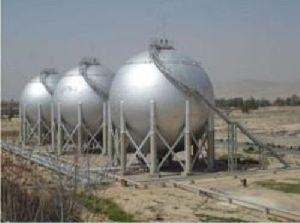 LPG Spherical Storage Tank