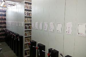 Library Rack Storage System
