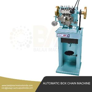 Automatic Box Chain Making Machine