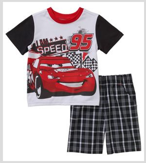 Boys Half Sleeve T-shirt With Shorts
