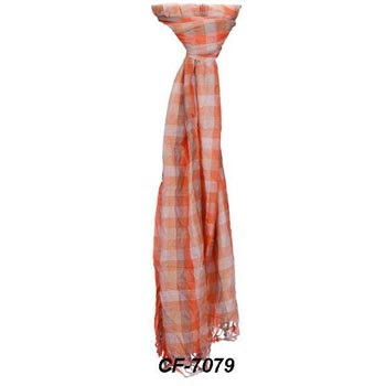 Cf-7079 Cotton & Silk Scarf