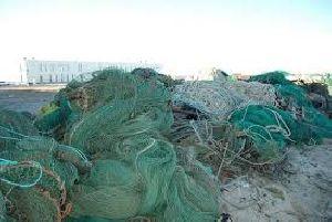 Nylon Fishing Net Scrap